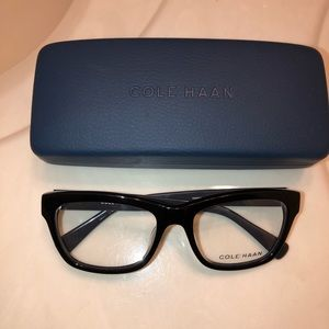 Beautiful black & gray Cole Haan Eyeglass Frames!